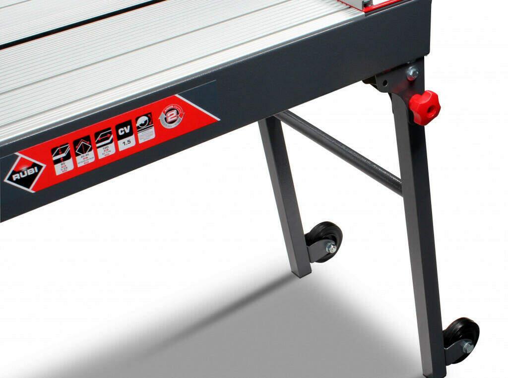 The best tile saw - RUBI DC-250 folding legs