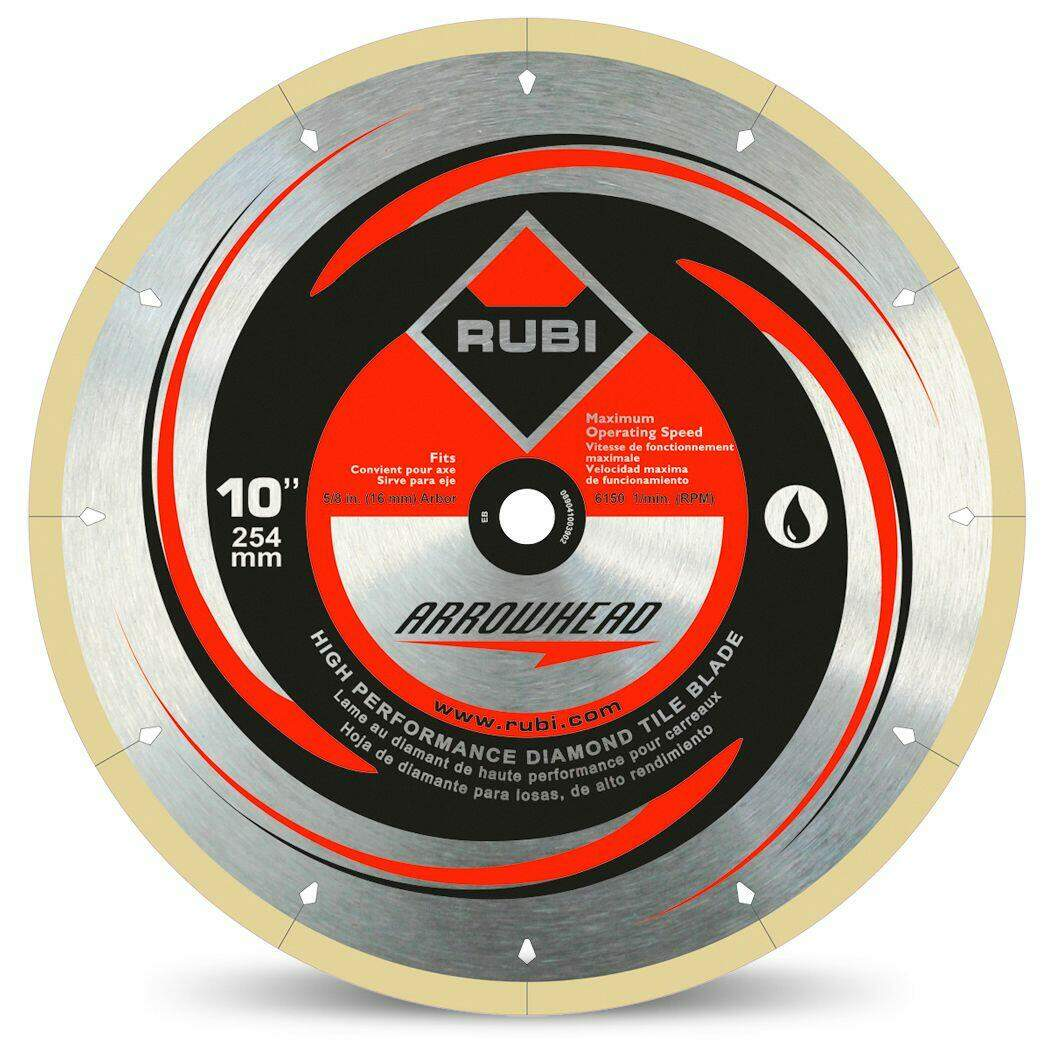 RUBI Diamond Blades - Arrowhead Diamond Blade