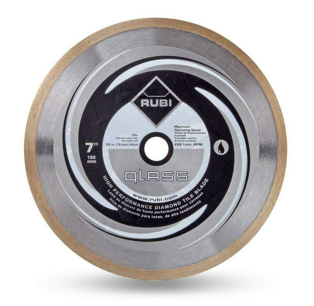 RUBI Diamond Blades - Glass Diamond Blade