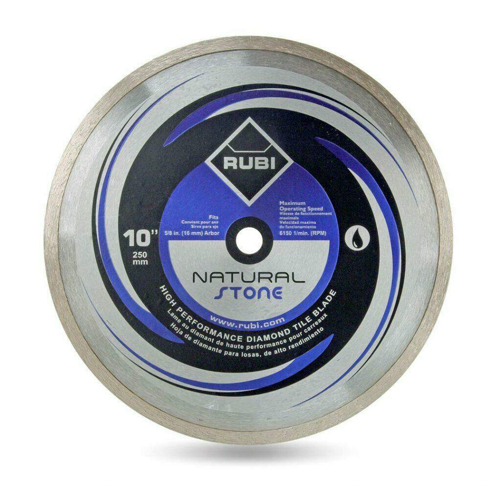 RUBI Diamond Blades - Natural Stone Diamond Blade