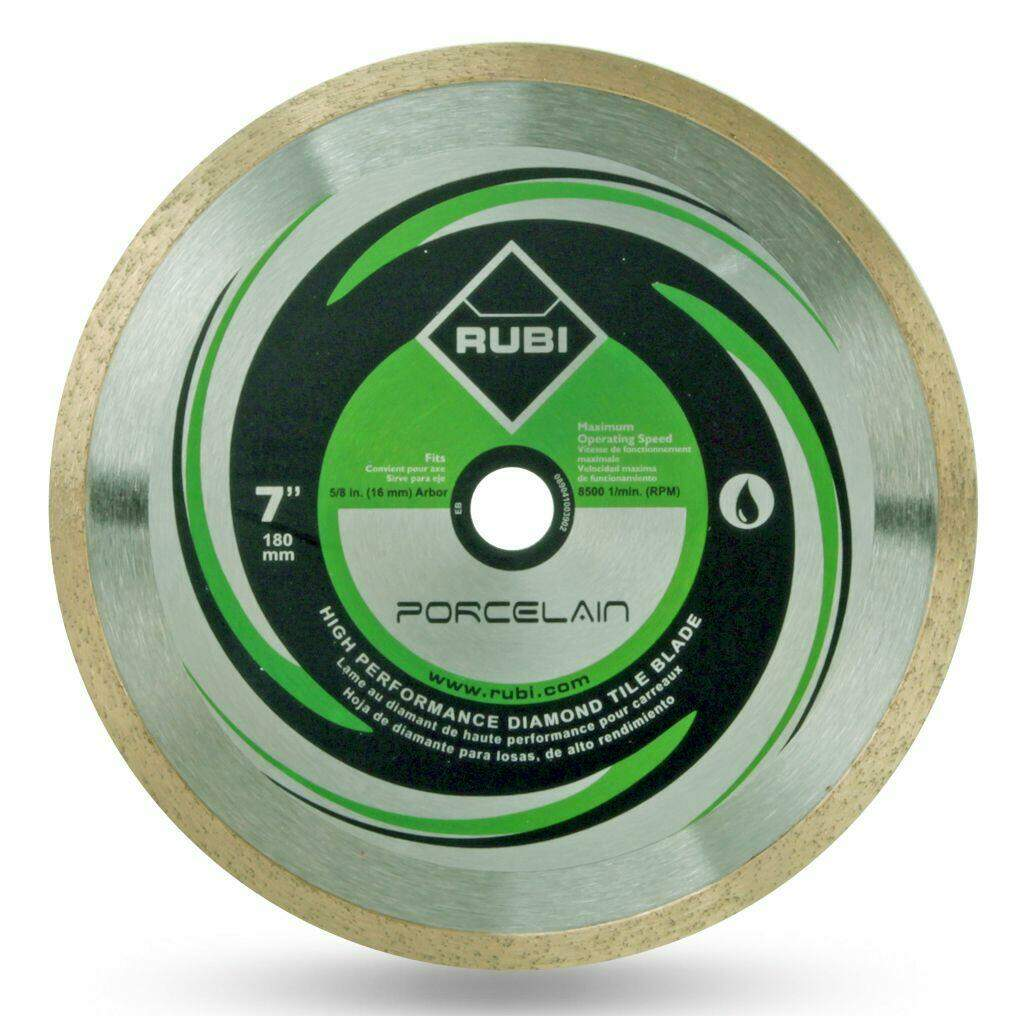 RUBI Diamond Blades - Porcelain Diamond Blade