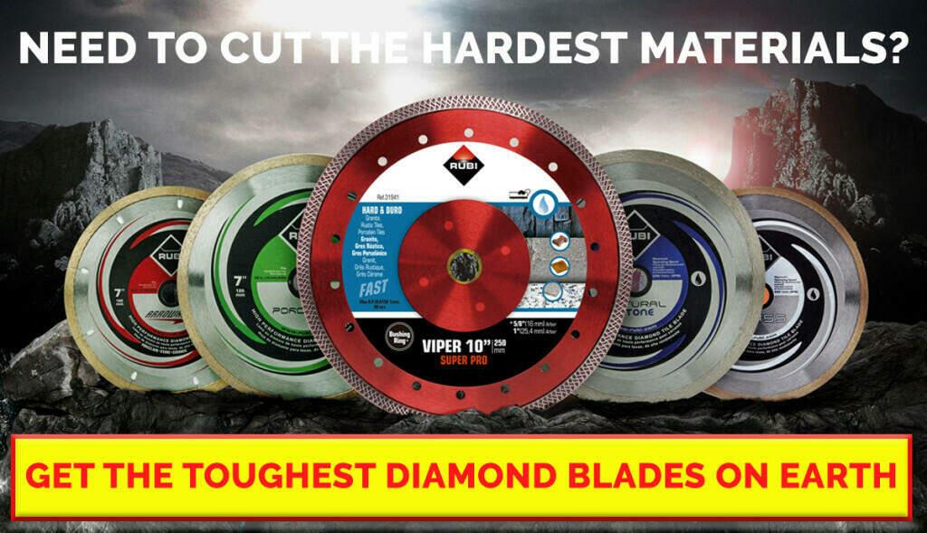 RUBI Diamond Blades Ad