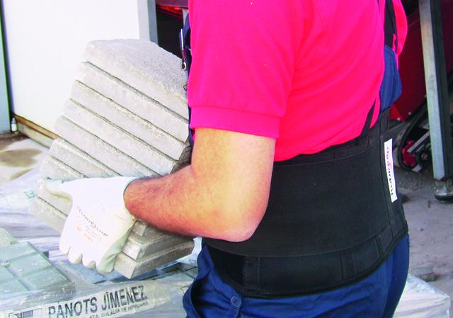 personal protective equipment-lumbar protector