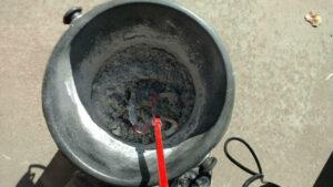 How to mix mortar - Initial mortar mix 2
