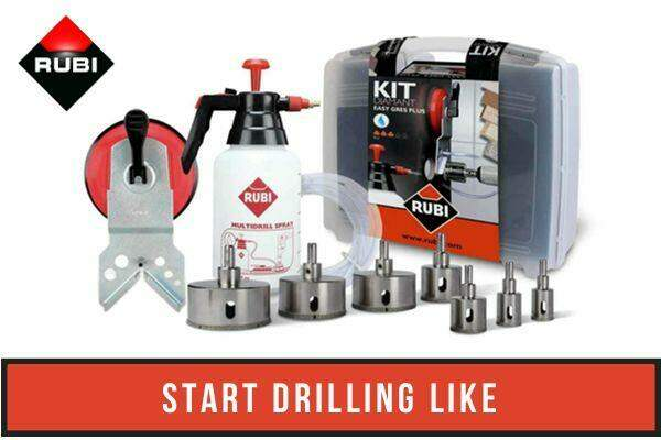 How to drill through tile. EASYGRES Ad