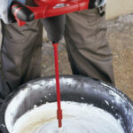 Grouting Tile - Preparing grouting material