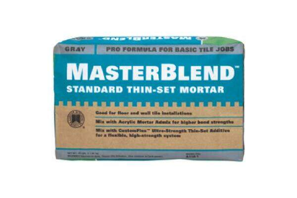 Modified Or Unmodified Thinset Custom Building Products Masterblend