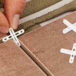 RUBI Tile spacer to determine separation between tiles.