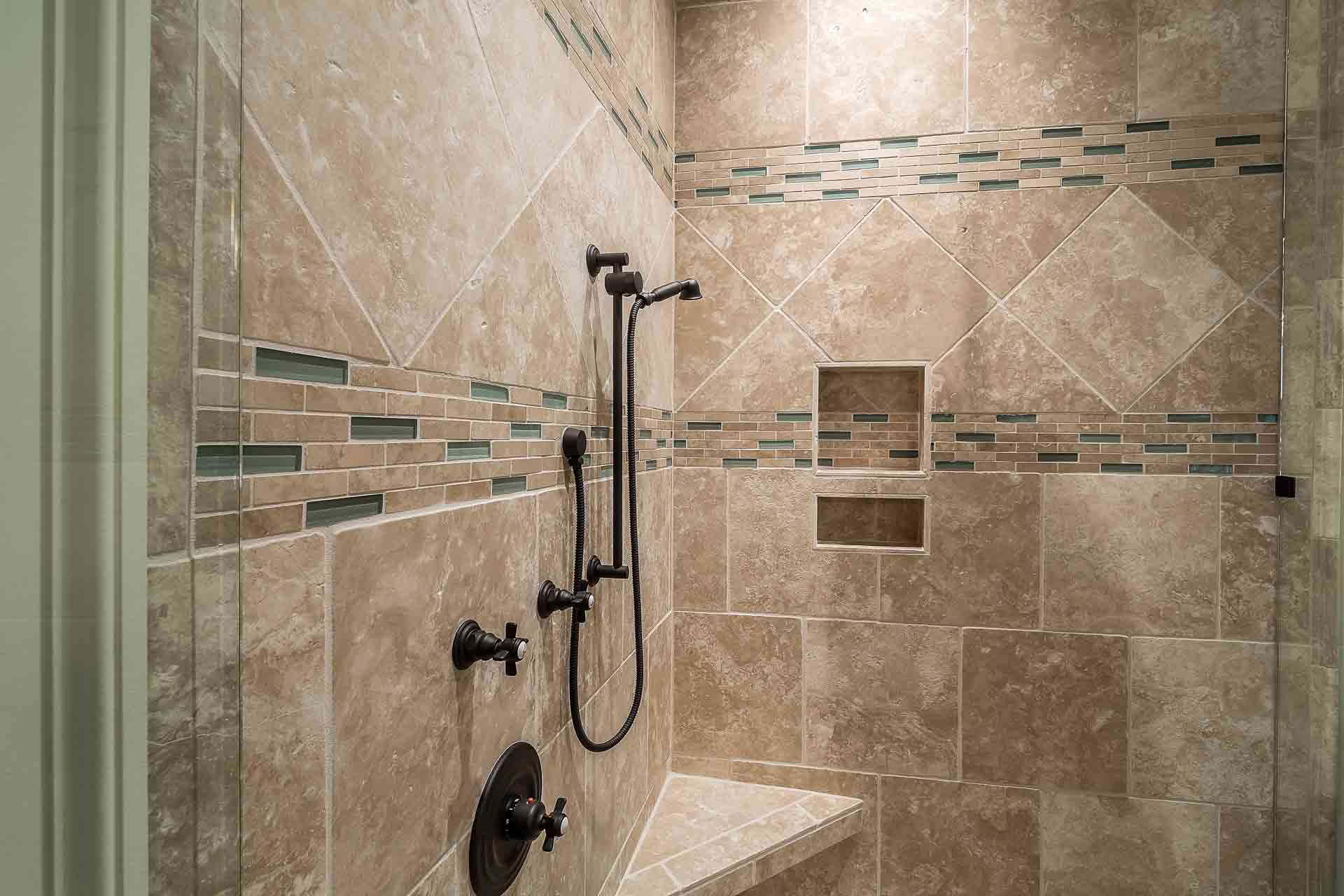 how to install tile shower